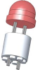 Led Spacer Molded (T1 3/4) .600 In -- 70208506 - Image