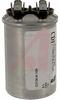 Capacitor, Motor Run;25uF;Round;370VAC;+/-10% -- 70186316