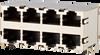 RJ45 Shielded Multi Port Jacks -- AJT49d8883