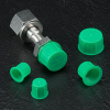 Threaded Plastic Caps for Metric Fittings - CD-M SERIES -- CD-M-18X1.5
