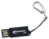 Innovera COB Flash Drive, 4 GB, USB 2.0, Black -- IVR38004