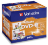 Verbatim 10-Pack Photo DVD-R 4.7GB 16X with Jewel Cases -- 95536