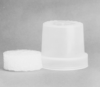 BOD BOTTLES CAPS - Polyethylene, with Foam Insert B.O.D. BOTTLE CAP - Polyethylene, with Foam Insert, Wheaton, B.O.D. Bottle Cap -- 1143010