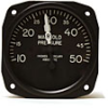 Engine Instruments / Miscellaneous IndicatorsManifold Pressure -- 6121-E.34 - Image