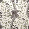 Detailed Owl In Tree Fabric -- K-Hoot Owl -- View Larger Image