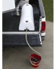 High Country Plastics 48 Gal. Half Moon Lay Down Water Caddy -- HCP-HMLD-48