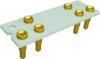 Relay Sockets, Solder Dip/6 Pin -- SMT1A-6P-AL33 - Image