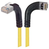 Shielded Category 6 Right Angle Patch Cable, Right Angle Right/Right Angle Up, Yellow, 20.0 ft -- TRD695SRA12Y-20 -Image