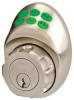 Keypad deadbolt Kwikset Satin Nickel -- 5RAT8