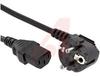 Cord, Power 10 A 2.5 m Mid Gray Plug 3 1 mm -- 70116079 - Image
