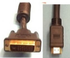PixelUSA Cable HDMI A Type Male to DVI-D Male Cable 2 Meter -- CB-HDMI-D-2M - Image