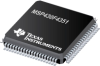MSP430F4351 16-Bit Ultra-Low-Power Microcontroller, 16kB Flash, 512B RAM, USART, 160 Segment LCD -- MSP430F4351IPN - Image
