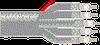 DS3 24 Coax 26 AWG SPC, Beldfoil® + Braid, Riser -- 735A24 -- View Larger Image