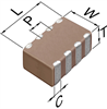 Multilayer Ceramic Chip Capacitor -- CKCA43C0G1H100F100AA - Image