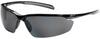 Bouton Optical Commander 250-33 Polycarbonate Standard Safety Glasses Polarized Gray Lens - Gloss Black Frame - 616314-30366 -- 616314-30366