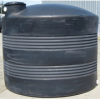 2500 Gallon Quadel Titan Vertical Water Storage Tank - Black -- QI-1020
