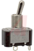 Switch, AC Rated, Toggle, SINGLE POLE, ON-OFF, Solder TERM., 15A@125V'10A@250V -- 70155724 - Image