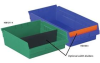 Width Dividers For Shelf Bins -- HDVSB8-6-OR -Image