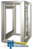 Chatsworth Products MegaFrame M-Series Cabinet, Frame Only -- M1522 -- View Larger Image