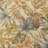 Tropical Fern/Flowers Tapestry Fabric -- RH-Seasonal