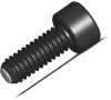 Ball Socket Head Screw - Flat - M6 X 16 -- BCF-12X30