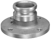 Aluminum Adapter x 150# ASA Flange Drilling -- View Larger Image