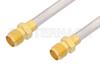 SMA Female to SMA Female Cable 6 Inch Length Using PE-SR402AL Coax -- PE34836LF-6 -Image