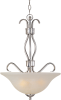 Basix EE 3-Light Invert Bowl Pendant -- 85121ICSN