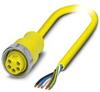 Sensor/Actuator cable - SAC-5P- 2,0-400/MINFS - 1532069 -- 1532069