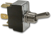 Carling Technologies 2GL51-78 Toggle Switch, Sealed Metal, 6 Terminals, DPDT, On-On, 15A -- 44263 - Image