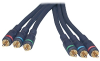 Cables To Go 6-Foot Velocity Component Video RCA Cable with -- 27082
