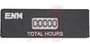 Hour Meter, Mini, 4.25mm 5 digit LCD display, 100-250VAC, data protection -- 70000864