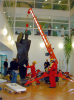 1200 kg Spider Crane -- SPD 265C