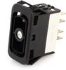 EATON NGR Rocker Switch, DPTT, On-On-On, One Light, NGR35031BNA0N -- 43014 -Image