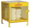 Steel Cylinder Storage Cabinet -- CAB355 -- View Larger Image