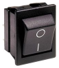 ARCOLECTRIC SWITCHES - C1353AB0/1GRN - ROCKER SWITCH, DPST, 16A, 250VAC, GREEN -- 924756 - Image