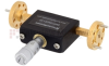 WR-10 Waveguide Continuously Variable Attenuator With Dial 0 to 30 dB Operating from 75 GHz to 110 GHz, UG-387/U-Mod Round Cover Flange -- SMW10AT001-30 - Image