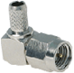 SMA Male Right-angle Connector With RG58 Cable End Crimp -- CONSMA012-R58