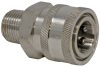 Coupler - Stainless Steel -- D10075