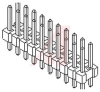 DUAL ROW STRAIGHT PIN BREAKAWAY HEADER;18 circuits -- 70191056 - Image