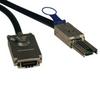 External SAS Cable, 4 Lane - mini-SAS (SFF-8088) to 4xInfiniband (SFF-8470), 3M (10-ft.) -- S520-03M - Image