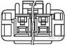 Rectangular Power Connectors -- 3-1376391-4 -Image