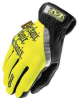 Mechanics Gloves,Hi Vis Yellow,XL,PR -- 16V411