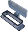 Standard, Rectangular Base, Bulkhead mount, size 104.27, 4 Pegs & plastic cover -- CHI-24CP