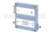 50 dB Gain, 25 Watt Psat, 2 GHz to 6 GHz, High Power GaN Amplifier, SMA Input, SMA Output, 7 dB NF -- PE15A5024 -Image