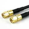 SMA Male to SMA Male Cable LMR-200 Coax in 6 Inch and RoHS Compliant -- FMC0202200LF-06 -Image