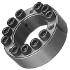 POWER-LOCK AS Metric Series Stainless Steel Keyless Locking Device