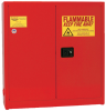 Eagle 24 gal Red Hazardous Material Storage Cabinet - 43 in Width - 44 in Height - 048441-33405 -- 048441-33405