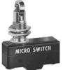 MICRO SWITCH YA Series Standard Basic Switch, Single Pole Normally Open Circuitry, 20 A at 250 Vac, Cross Roller Plunger Actuator, 3,89 N to 6,12 N [14.0 oz to 22.0 oz] Operating Force, Silver Contact -- YA-2RQ81245-D6 -Image