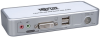 2-Port Compact USB KVM Switch w/Audio and Cable -- B004-VUA2-K-R